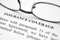 A renters insurance agreement.
