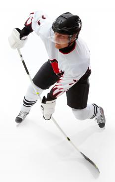 A hockey player is said to have turned a 'hat trick' when he scores three goals in a single game.