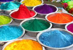 Powder paint is a dry, colored powder that is sprayed onto a steel structure by using a special application gun that uses air to discharge the powder.