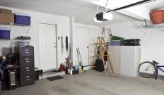 A garage heater won't be particularly effective if a garage is not insulated.