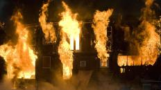 A person may insure his or her home against fire damage.