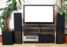 A well-designed home theater can effectively hide wiring.