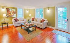 Chestnut wood flooring tend to be durable in areas of the home that get a frequent use.