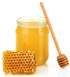 Honey is often used in homemade face masks due to its antibacterial properties.