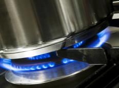 Teflon hoses are frequently used to supply stoves with natural gas.