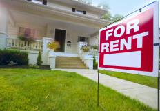 Real estate agents are a good resource for finding short-term housing rentals.