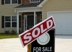 Home depreciation may occur if surrounding homes in a neighborhood are sold for less money.