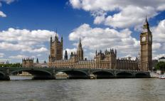 The Parliament of the United Kingdom, which meets in the Palace at Westminster, is composed of the House of Lords and the House of Commons.