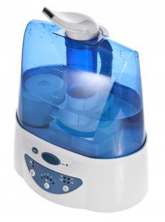 Using a humidifier can help alleviate throat soreness.