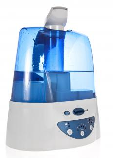 A cool mist humidifier emits moisture and helps to relieve nasal congestion while suppressing coughs.