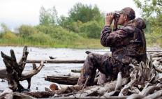 Hunters may use night vision binoculars to spot prey early in the morning.