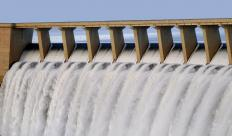 A hydropower dam designed by a power engineer.