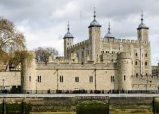 Lady Jane Gray and her husband Guilford Dudley, were held in the Tower of London from 1553 until February 1554, when they were ordered to be executed by Queen Mary I.