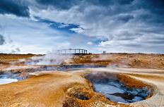 Geothermal energy comes from inside the Earth's sufrace.