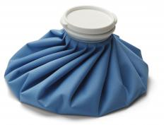 Restless leg sufferers can use cold packs to reduce their symptoms.
