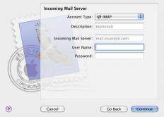 Incoming mail servers can be named according to the retrieval protocol used.