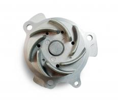 An impeller rotates inside a pump to propel liquid through the pump.