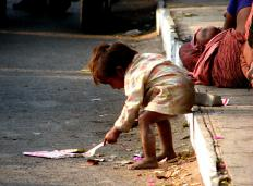 Poverty is a popular topic examined in social research.