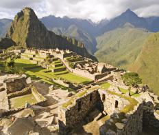 Machu Picchu, which was constructed by the Inca in the 1450s, is located in Peru's Cusco region.
