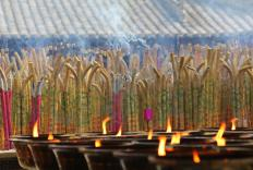 Incense is commonly used in religious ceremonies.