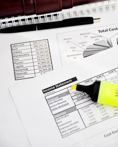Income statements are used to summarize the financial profile of a company within a certain period of time.