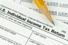 Some income reported to the IRS is considered a personal allowance and is not taxable.