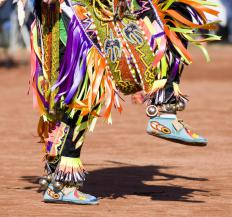 The Taos Pueblo Pow-Wow is a major yearly event.
