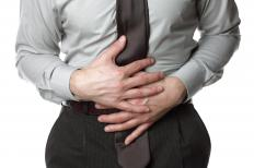 Strained stomach muscles can cause pain and discomfort.