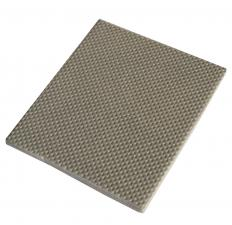 Acoustic ceiling tiles reduce noise.