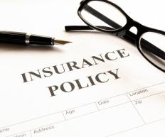 The insurance declaration page provides basic coverage information for a policyholder.