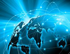 Many companies sell products around the world because of increased technology and globalization.