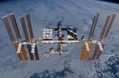 No molecular clouds, even small ones, have been observed by astronauts on the International Space Station.