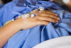 Intravenous fentanyl, a narcotic pain reliever, is usually delivered in the hospital when a patient is in severe pain.