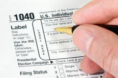 The Earned Income Tax Credit is recorded on a line of a person's 1040 Form.