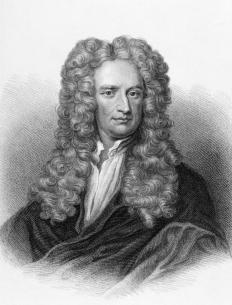 Isaac Newton is credited with inventing calculus separately from Gottfried Leibniz.