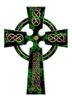 The Celtic crosses is a common motif in Celtic jewelry.
