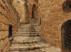 Jaffa, Israel, an ancient city that has been studied by many archaeologists.