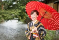 The traditional Japanese kimono is silk and today is mostly saved for special occasions.