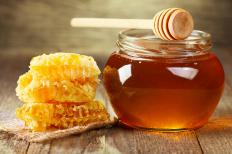 Honey can be used to sweeten dessert toppings and frostings.