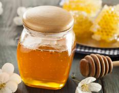 Tapioca syrup may be used in place of honey.