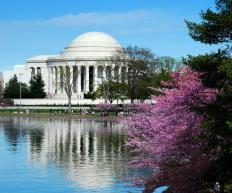 The Jefferson Memorial in Washington DC. President Jefferson signed the Embargo Act of 1807.