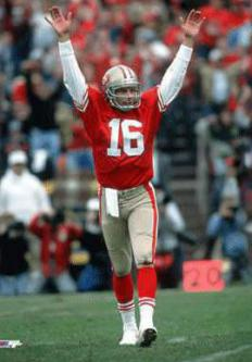 Steve Young spent several seasons as the backup to Joe Montana.