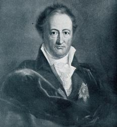 Johann von Goethe, a noted author and thinker, promoted the Gestalt Principle of Perception.