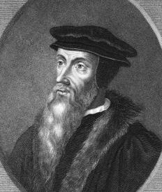 John Calvin created Calvinism in the 1500s.