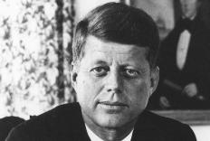 John F. Kennedy had yin sanpaku eyes.