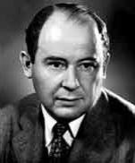 John von Neumann created Von Neumann architecture in the mid 1940's.