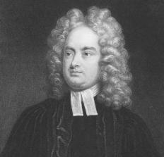 Jonathan Swift is a well-known writer of neoclassical poetry.
