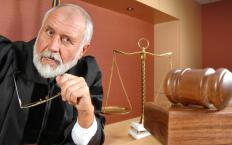 An administrative court judge may issue an administrative order.