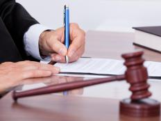 A judge can write a consent decree that details the agreement between two parties in a lawsuit.