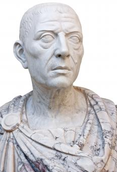 "Most people believe that Julius Caesar was the first person to utter ""the die is now cast."""